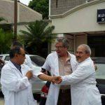 Médicos del Rosales celebraron la decisión del juez de no destituir a Leiva el año pasado, pero el proceso sigue.