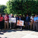 Protesta de técnicos en el Mined