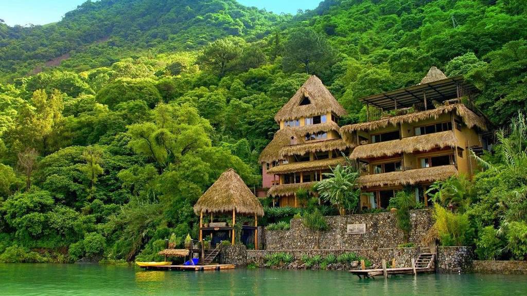Hotel Laguna Lodge, Guatemala