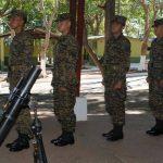 El acto de graduación de los sesenta y tres cadetes se desarrolló en el salón de usos múltiples  del Destacamento Militar Número Tres donde asistieron sus familiares.