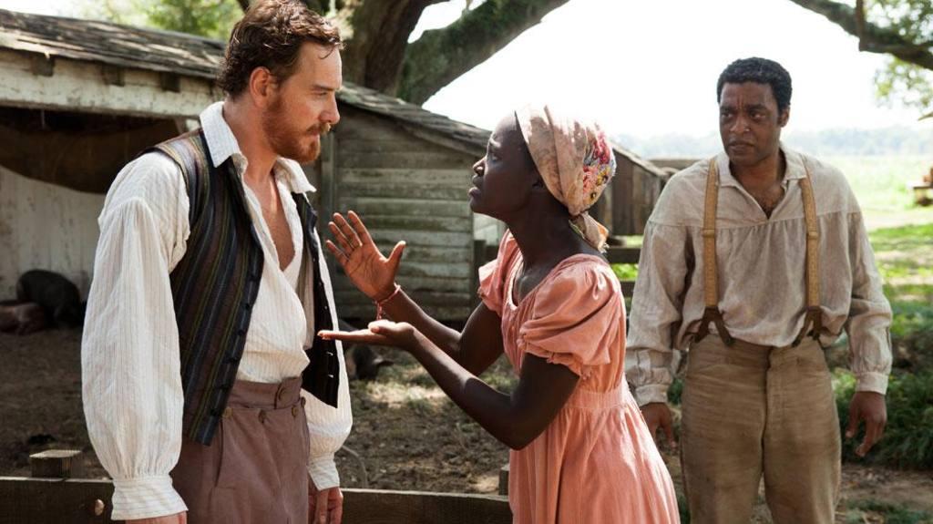 Película 12 años de esclavitud