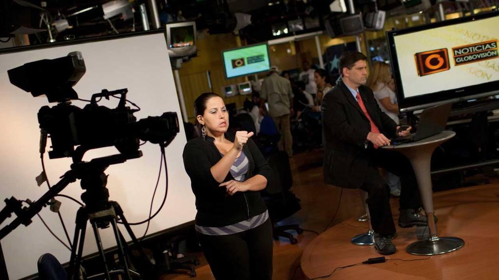 El canal Globovisión, en la mira del régimen.