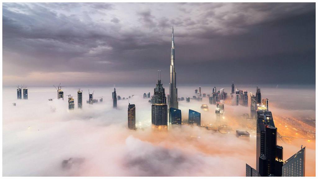 el burj khalifa el edificio ms alto del mundo con ms de pisos