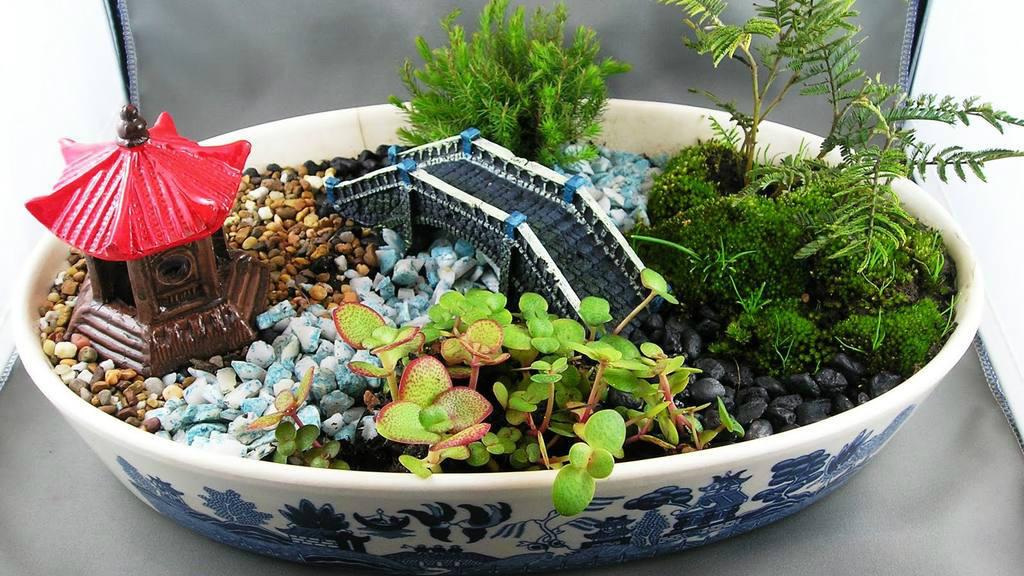El arte de los jardines miniatura for Jardines japoneses en miniatura