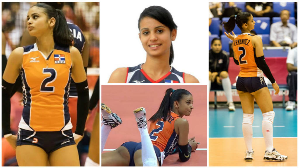 Fotos Winifer Fernandez La Bella Jugadora De Voleibol Dominicana