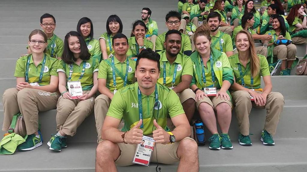 03290c963c El salvadoreño que destacó como voluntario en Río 2016