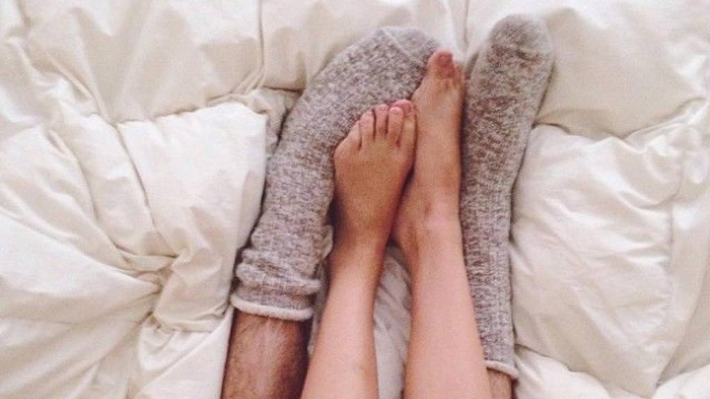 ¿Con o sin calcetines?