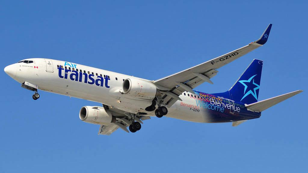Avión de Air Transat