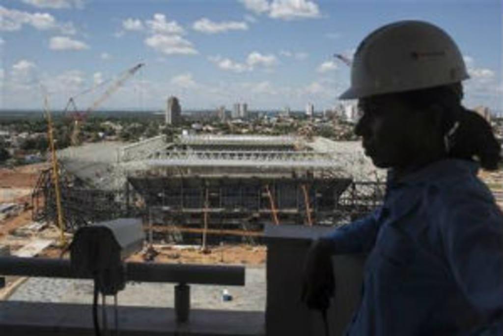 Reanudan obras en el Arena Corinthians | elsalvador.com