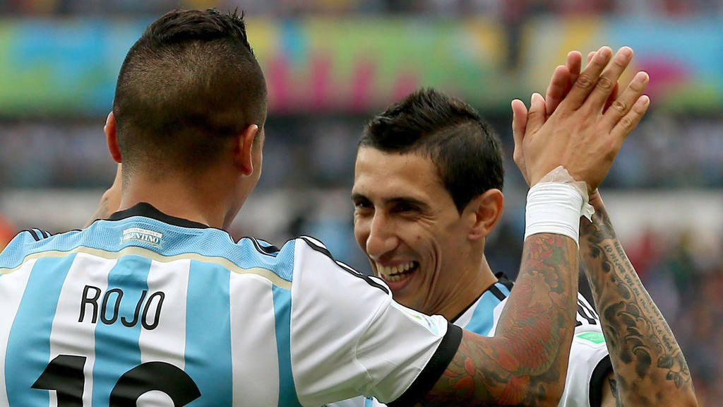 United por Di María y Marcos Rojo | elsalvador.com