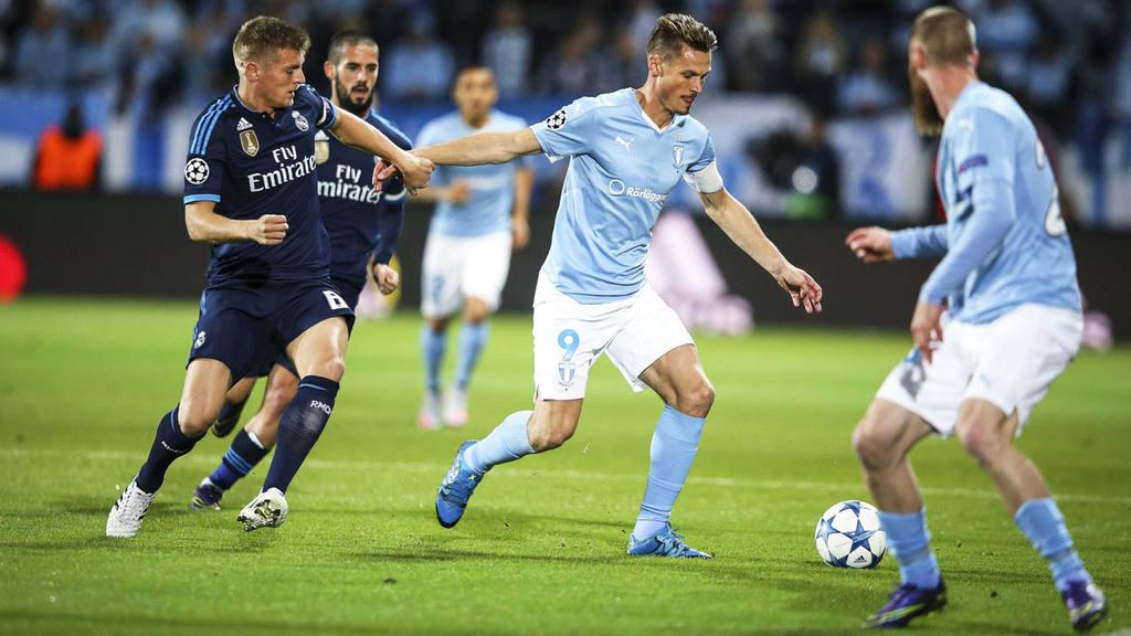Real Madrid venció 2-0 al Malmoe