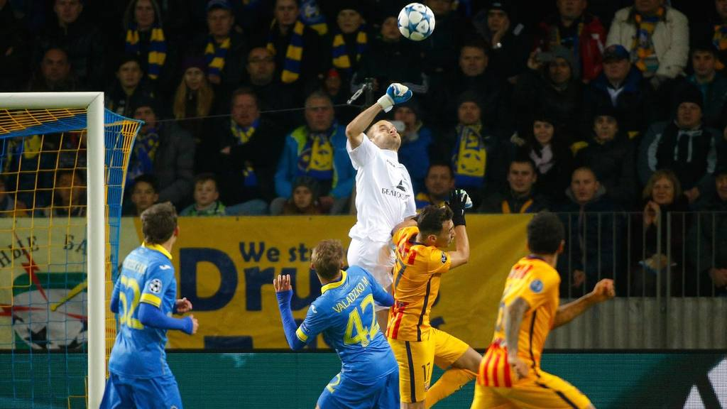 BATE Borisov 0 - 2 Barcelona