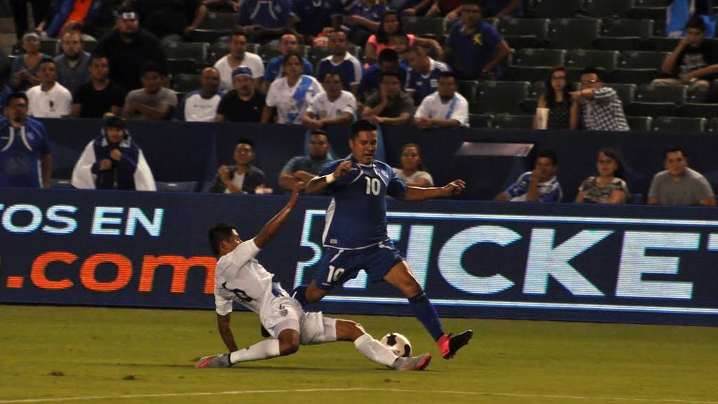El Salvador vs Guatemala