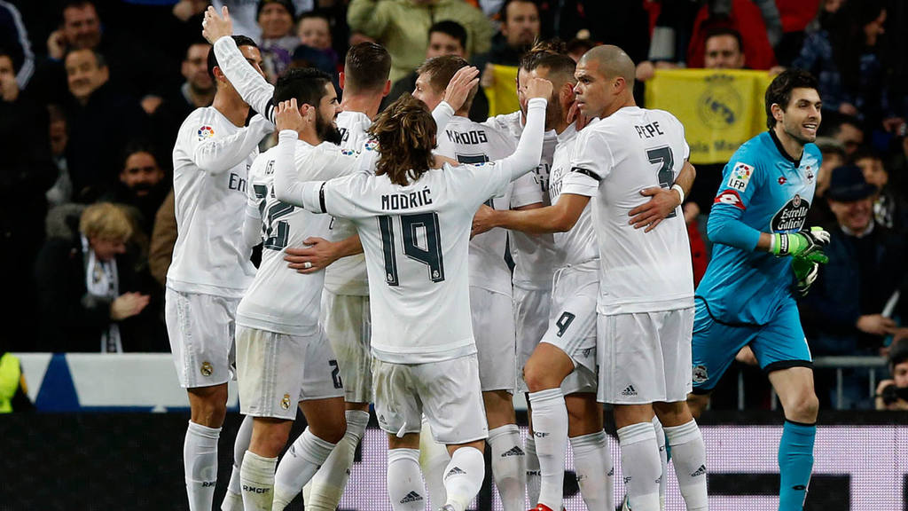 Real Madrid vs  Deportivo