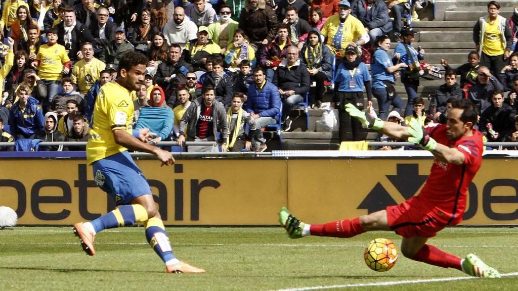 Las Palmas 1 - 2 Barcelona