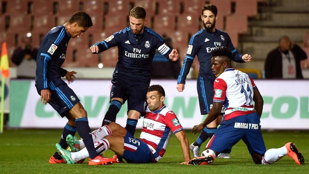 Granada 1 - 2 Real Madrid