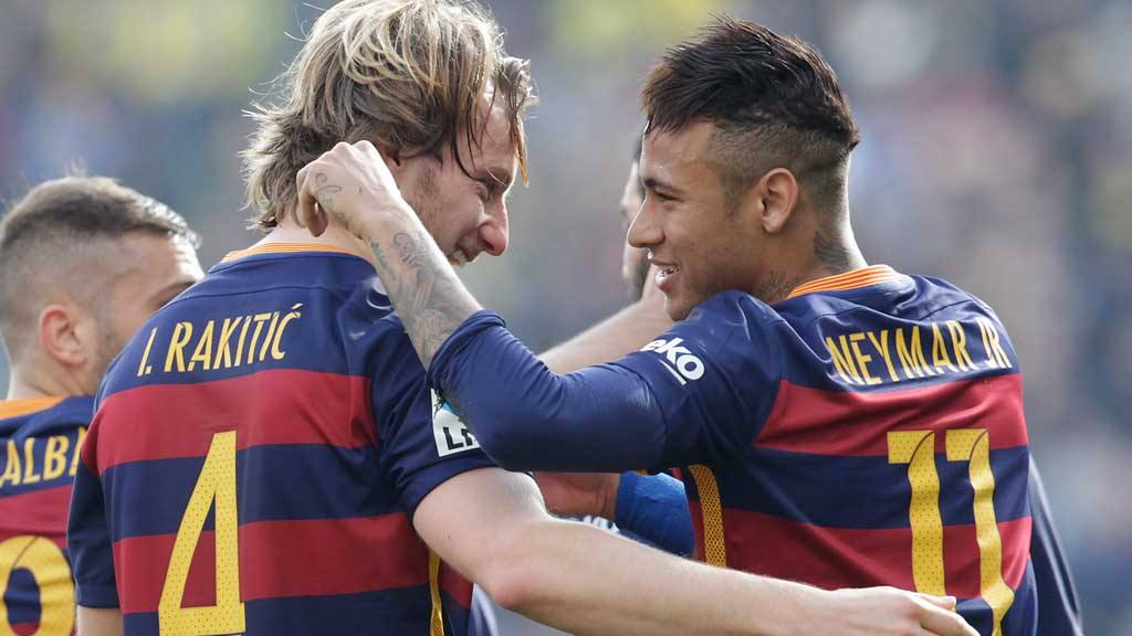 Rakitic, Neymar