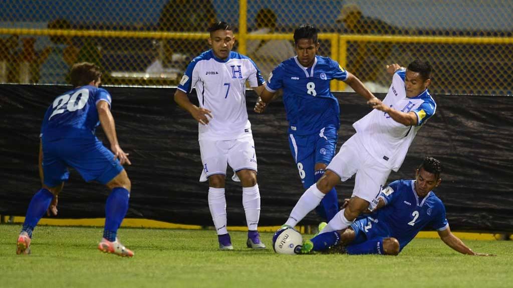 El Salvador 2-2 Honduras