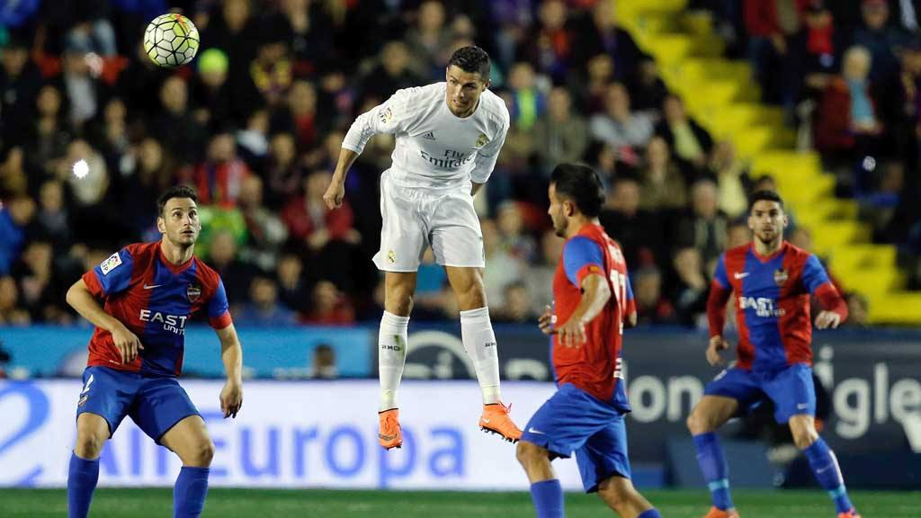 Levante 1 - 3 Real Madrid