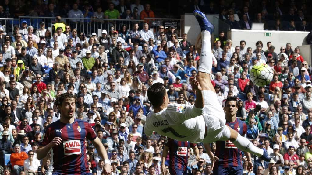Real Madrid 4 - 0 Eibar