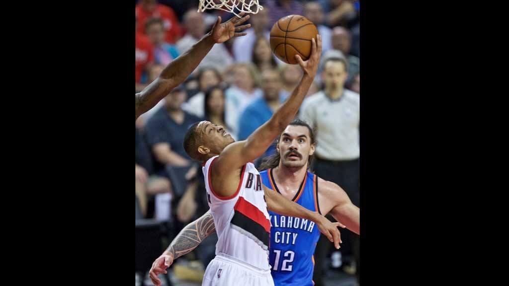 Blazers vs Oklahoma City Thunde