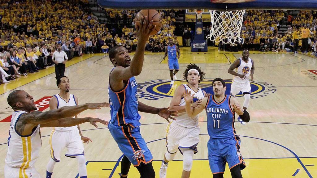 Oklahoma City Thunder - Golden State Warriors