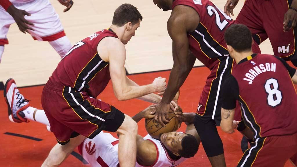Raptors 116-89 Heat