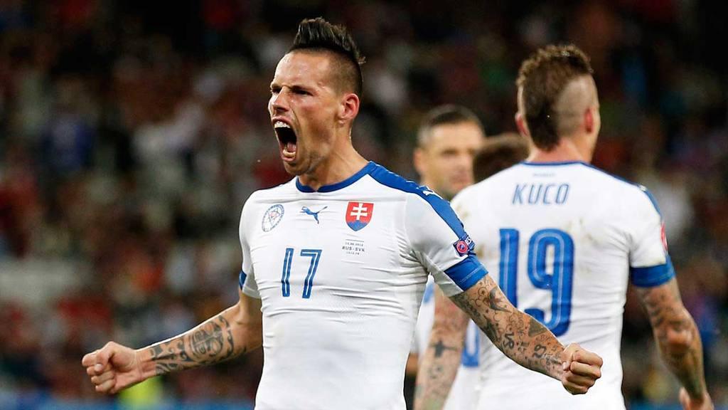 Group B Russia vs Slovakia