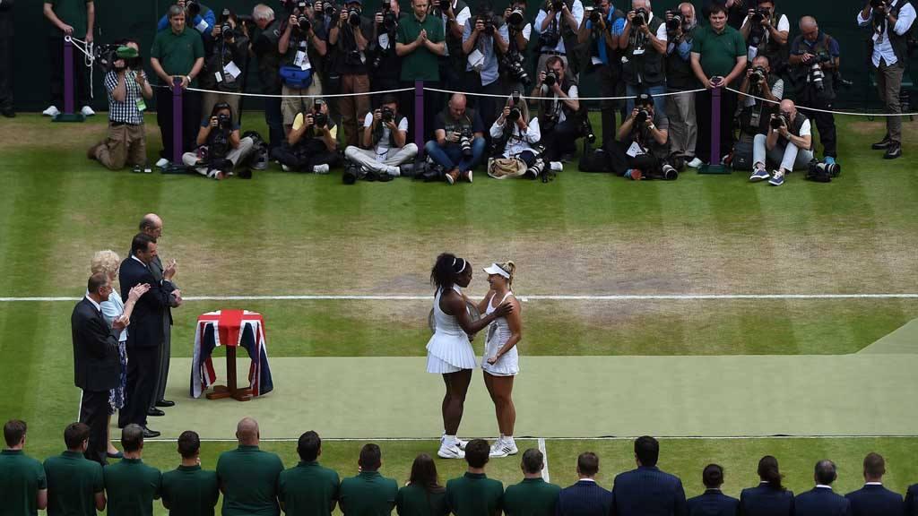 Serena Williams campeona en Wimbledon