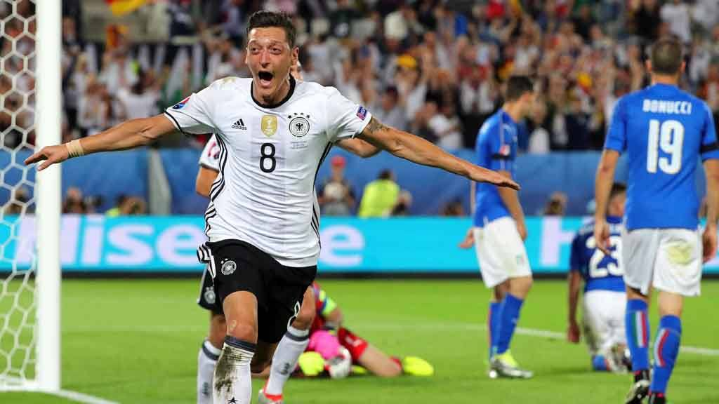 Alemania, Italia en la Eurocopa 2016