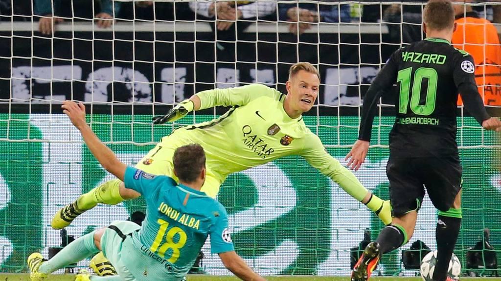 Ter Stegen permanecerá con el Barcelona hasta el 2022