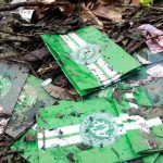 Objetos que encontraron en el lugar de la tragedia del Chapecoense