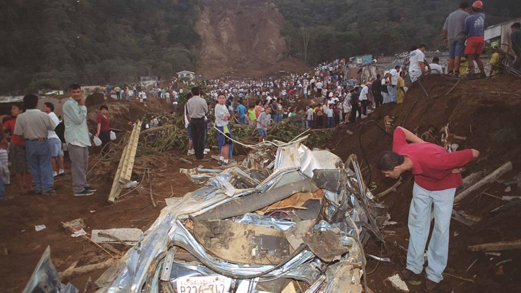 Las Colinas Terremoto