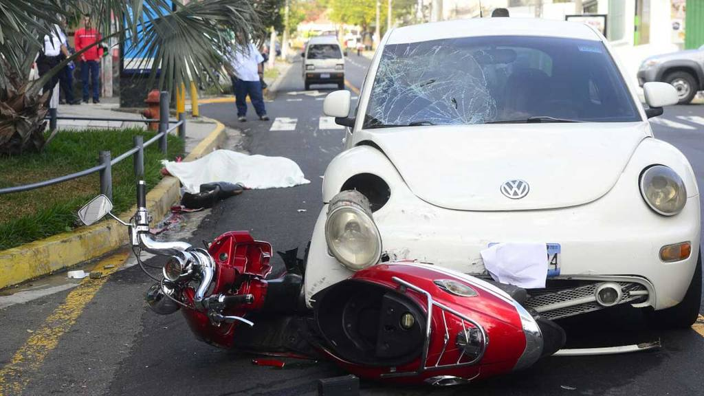 Accidente motociclista