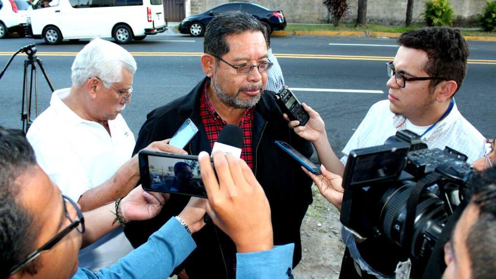 Simón Paz, alcalde de Mejicanos