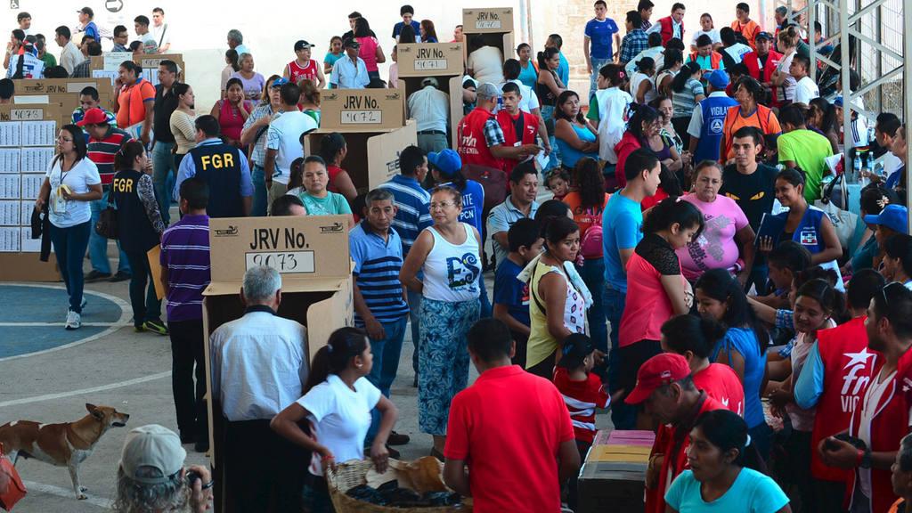 Votaciones elecciones El Salvador