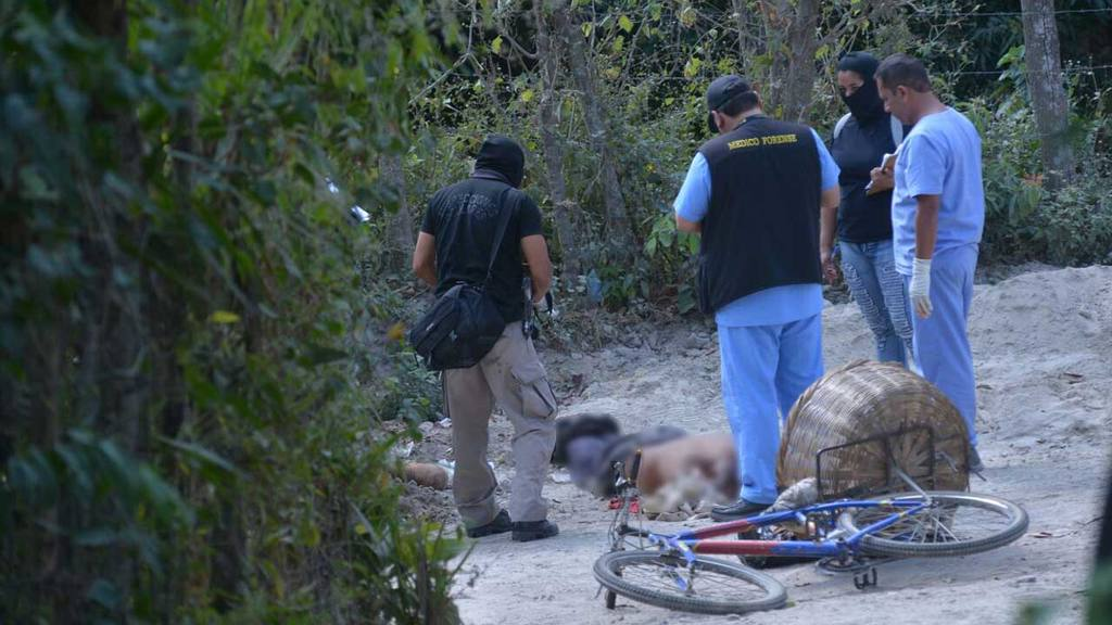 Homicidio Panadero San Pedro Perulapan
