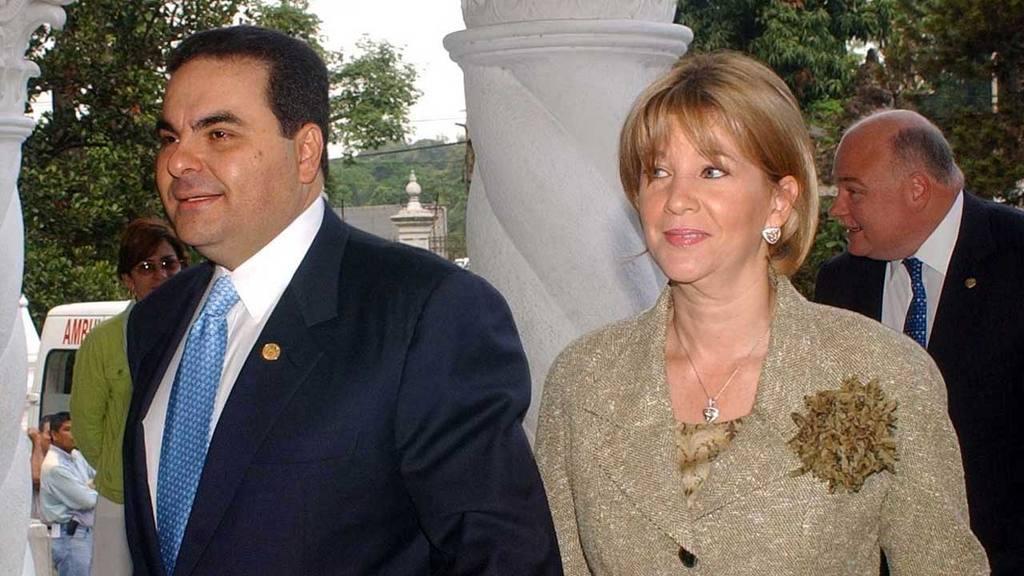 Tony Saca y Ana Ligia de Saca