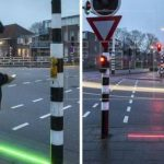 Semáforos para adictos al celular en Holanda
