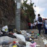 basura, suciedad, sin recolección de basura