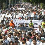 Mexicanos marchan contra Trump