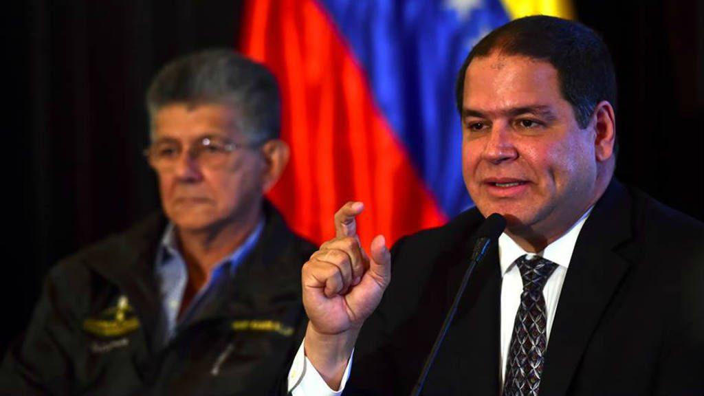 Diputado opositor de Venezuela