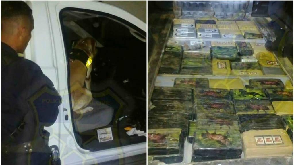 Sujetos transportaban cocaína en compartimiento secreto | elsalvador.com