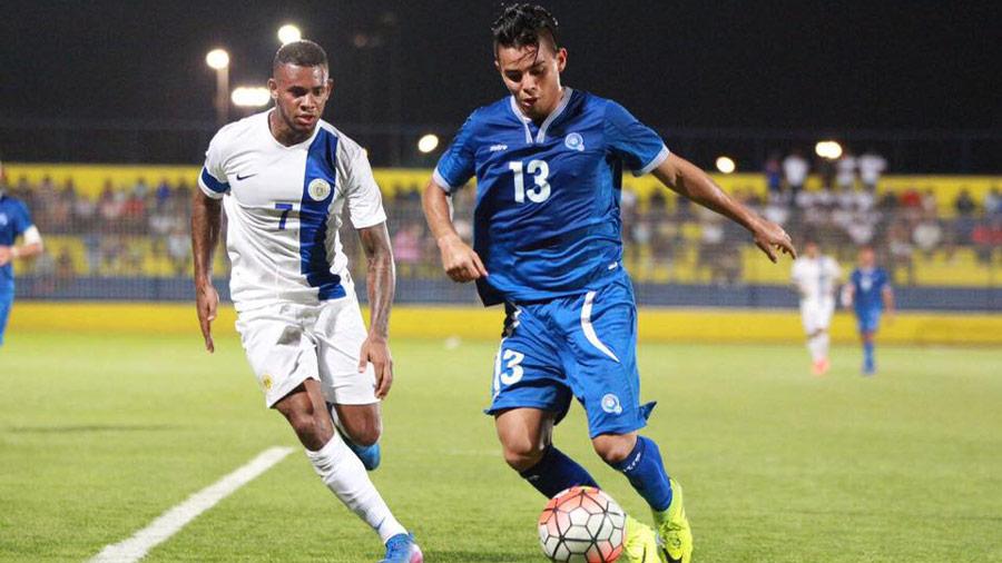 22-3-20176 - Amistoso El Salvador 1 Curazao 1. Esa-vrs-Honduras