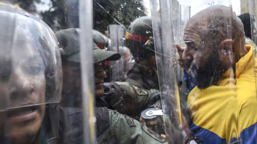 Protesta oposición Venezolana