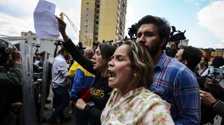 Protesta oposición Venezuela