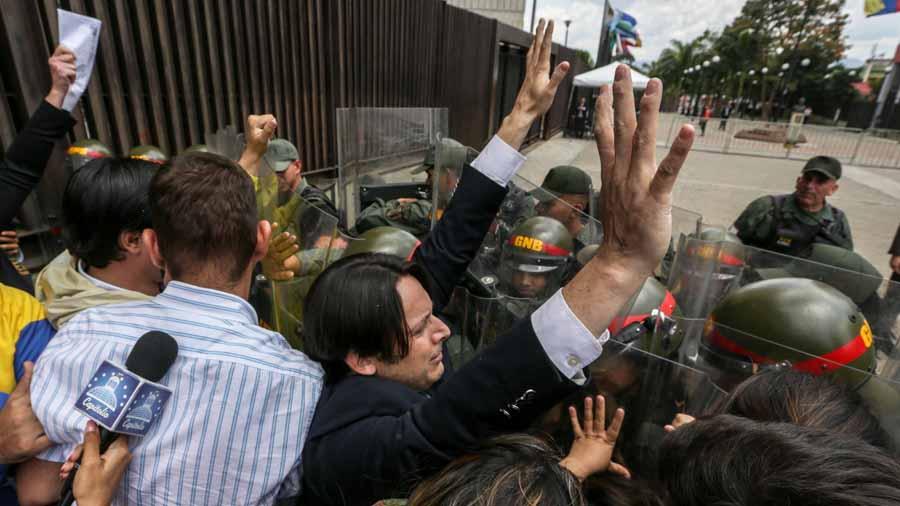 Protestas opositores Venezolanos