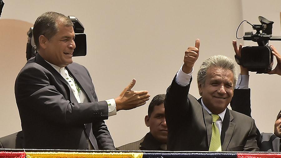 Raúl Castro felicita a presidente elcto de Ecuador, Lenín Moreno