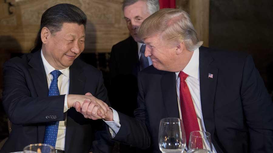 Resultado de imagen de trump y presidente de china