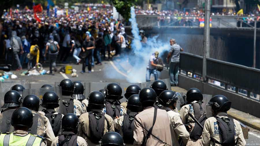 Venezuela Crisis Oposición